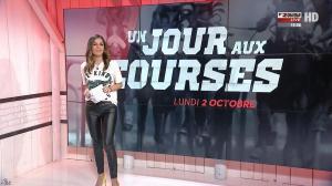 Amélie Bitoun dans un Jour aux Courses - 02/10/17 - 02