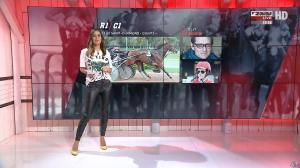 Amélie Bitoun dans un Jour aux Courses - 02/10/17 - 04