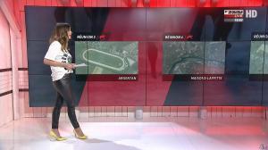 Amélie Bitoun dans un Jour aux Courses - 02/10/17 - 08
