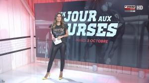 Amélie Bitoun dans un Jour aux Courses - 03/10/17 - 01