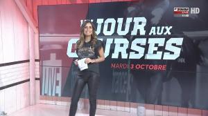 Amélie Bitoun dans un Jour aux Courses - 03/10/17 - 02