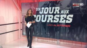 Amélie Bitoun dans un Jour aux Courses - 04/09/17 - 01