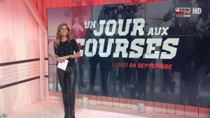 Amélie Bitoun dans un Jour aux Courses - 04/09/17 - 02