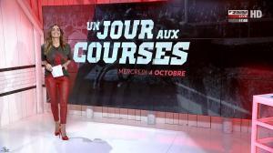 Amélie Bitoun dans un Jour aux Courses - 04/10/17 - 01