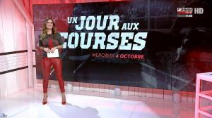 Amélie Bitoun dans un Jour aux Courses - 04/10/17 - 04