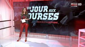 Amélie Bitoun dans un Jour aux Courses - 04/10/17 - 06