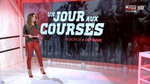 Amélie Bitoun dans un Jour aux Courses - 04/10/17 - 07