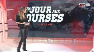 Amélie Bitoun dans un Jour aux Courses - 08/05/17 - 02