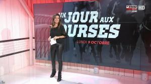 Amélie Bitoun dans un Jour aux Courses - 09/10/17 - 02