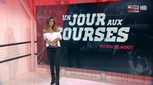 Amélie Bitoun dans un Jour aux Courses - 22/08/17 - 01