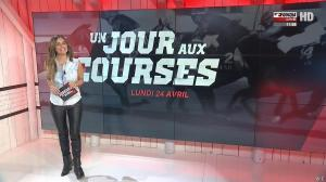 Amélie Bitoun dans un Jour aux Courses - 24/04/17 - 02