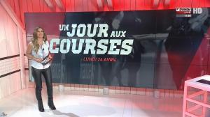Amélie Bitoun dans un Jour aux Courses - 24/04/17 - 03
