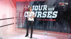 Amélie Bitoun dans un Jour aux Courses - 26/09/17 - 01