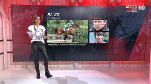 Amélie Bitoun dans un Jour aux Courses - 26/09/17 - 06