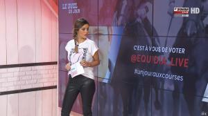 Amélie Bitoun dans un Jour aux Courses - 26/09/17 - 16