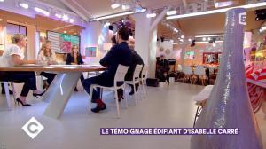 Anne-Elisabeth Lemoine dans C à Vous - 19/01/18 - 05