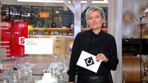 Anne-Elisabeth Lemoine dans C à Vous - 24/01/18 - 01