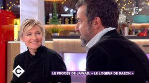 Anne-Elisabeth Lemoine dans C à Vous - 24/01/18 - 03