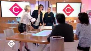 Anne-Elisabeth Lemoine dans C à Vous - 26/12/17 - 02