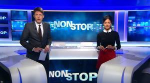 Aurélie Casse dans Non Stop - 01/02/18 - 02