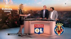 Carine Galli lors de la Soirée Europa League - 15/02/18 - 07