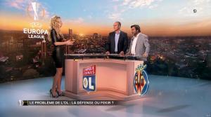 Carine Galli lors de la Soirée Europa League - 15/02/18 - 23