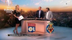 Carine Galli lors de la Soirée Europa League - 15/02/18 - 24