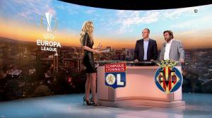 Carine Galli lors de la Soirée Europa League - 15/02/18 - 29