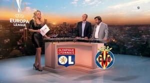 Carine Galli lors de la Soirée Europa League - 15/02/18 - 31