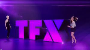 Elsa Fayer dans une Bande-Annonce de TFX - 01/02/18 - 05