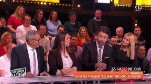 Tatiana Laurens Delarue dans c'est Que de la Télé - 09/02/18 - 02