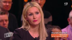 Tatiana Laurens Delarue dans c'est Que de la Télé - 09/02/18 - 03