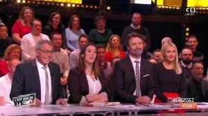Tatiana Laurens Delarue dans c'est Que de la Télé - 09/02/18 - 05