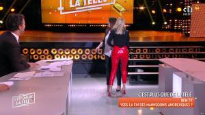 Tatiana Laurens Delarue dans c'est Que de la Télé - 09/02/18 - 14