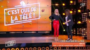 Tatiana Laurens Delarue dans c'est Que de la Télé - 09/02/18 - 16