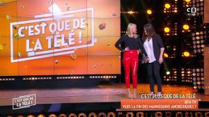 Tatiana Laurens Delarue dans c'est Que de la Télé - 09/02/18 - 17