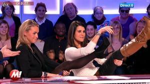 Cécile De Menibus et Karine Ferri chez Morandini - 16/12/11 - 03