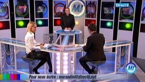 Cécile De Menibus chez Morandini - 01/03/11 - 03