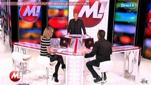 Cécile De Menibus chez Morandini - 01/12/11 - 02