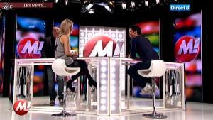 Cécile De Menibus chez Morandini - 08/12/11 - 02