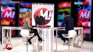 Cécile De Menibus chez Morandini - 08/12/11 - 03