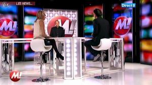 Cécile De Menibus chez Morandini - 22/11/11 - 01