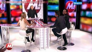Cécile De Menibus chez Morandini - 22/11/11 - 02