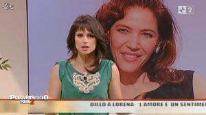 Lorena Bianchetti dans Pomeriggio sul Due - 22/11/10 - 03