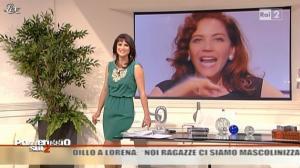 Lorena Bianchetti dans Pomeriggio sul Due - 22/11/10 - 06