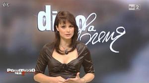 Lorena Bianchetti dans Pomeriggio sul Due - 23/11/10 - 05