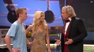 Michelle Hunziker dans Wetten Dass - 03/12/11 - 06