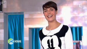 Alessandra Sublet dans C à Vous C le Meilleur - 18/02/12 - 01