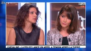 Apolline De Malherbe et Emmanuelle Duez dans la Matinale - 10/10/12 - 09