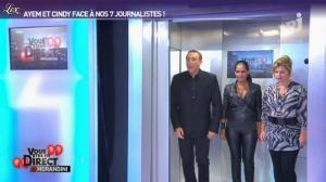 Ayem et Cindy Lopes dans Vous Etes En Direct - 06/09/12 - 03